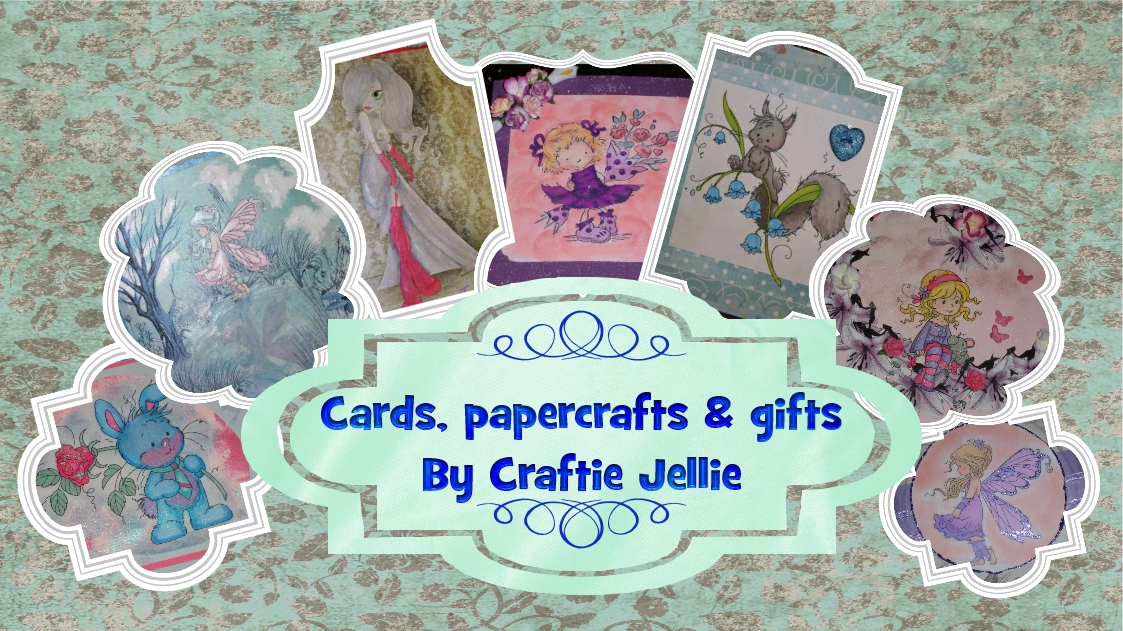 Achelois cards, papercraft, gifts by Craftie Jellie